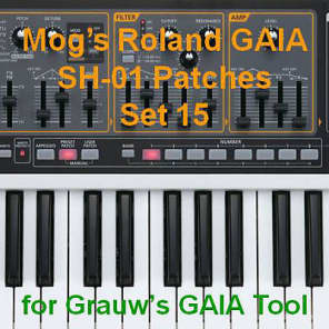 Mog's Roland GAIA Patches - Set 15