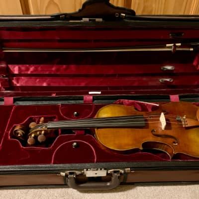 Great Sounding Raffael Bilotta 4/4 Violin with Presto Encore Bow and Case
