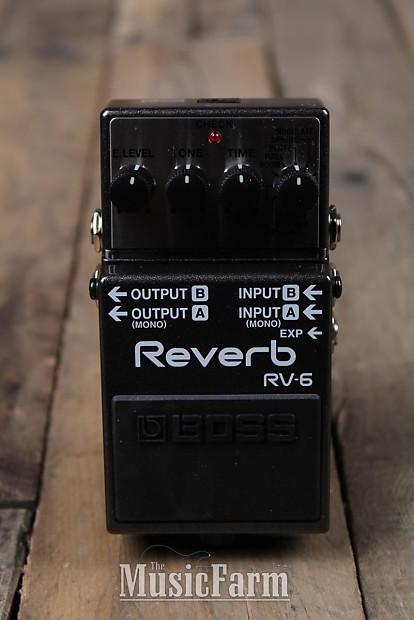boss rv 6 digital reverb electric guitar effects pedal 8 reverb. Black Bedroom Furniture Sets. Home Design Ideas