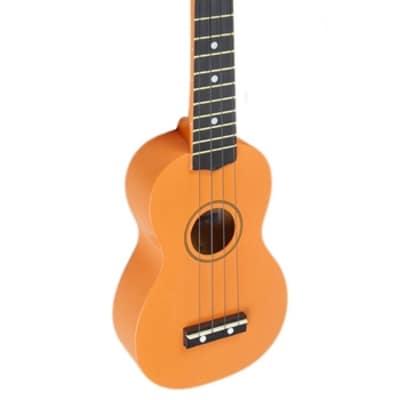 Kona Soprano Ukulele Orange With Soft Case Ideal Starter Or Travel Uke Many Colour Options! for sale