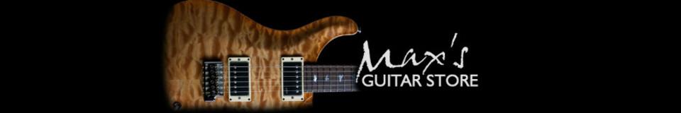 Max's Guitar Store