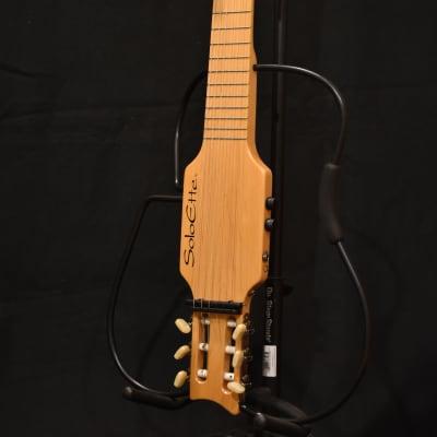 USA-MadeWright Soloette nylon-string silent travel guitar for sale