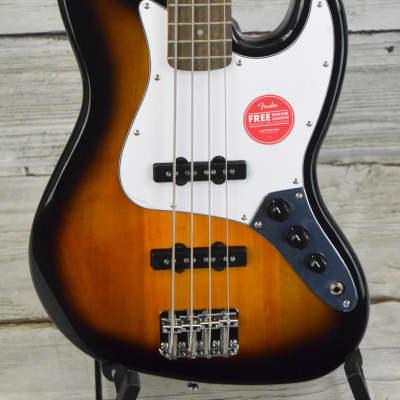 Squier Affinity Jazz Bass - Brown Sunburst