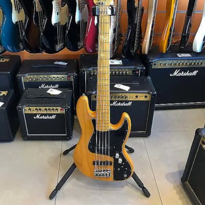 Fender Marcus Miller Jazz Bass V Natural  2003 - 2014 Natural for sale