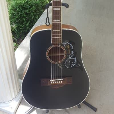 Vintage 1950/60's National Blacktop Acoustic Guitar