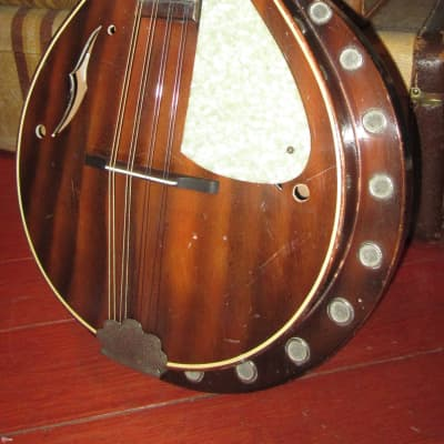 Vintage Circa 1959 Harmony Leo Master Resonator Mandolin for sale