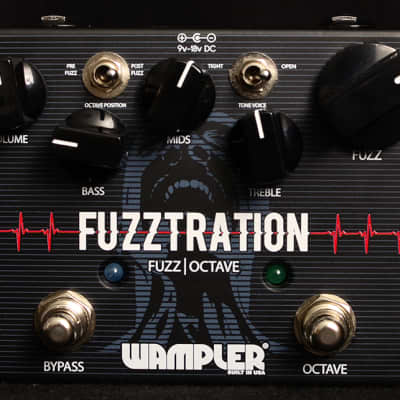 New Wampler Fuzztration Fuzz/Octave! for sale