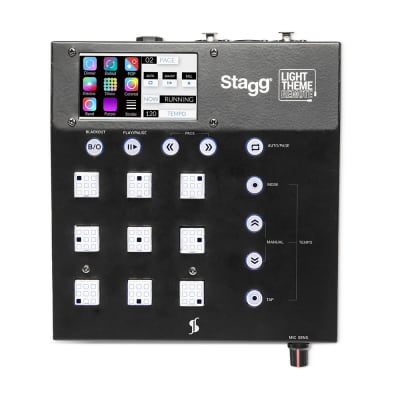 Stagg Ergonomic LightTheme Remote with Pre-Programmed Themes - SLT-REMOTE-1