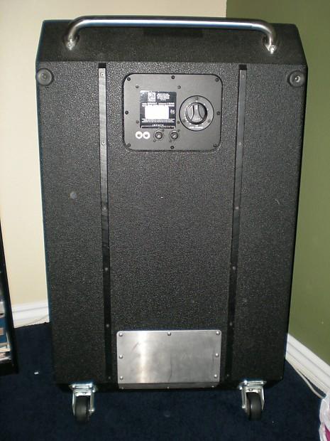 ampeg 6x10 bass cabinet clean svt 610hlf 610 reverb. Black Bedroom Furniture Sets. Home Design Ideas