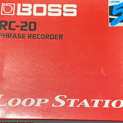Boss RC-20 Loop Station Pedal