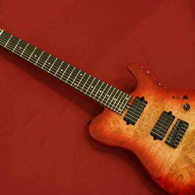Bacchus T7-SPECIAL-I.C - Red Burst made in Japan w/ free shipping! ** image