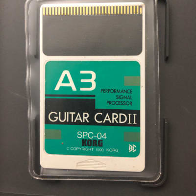 Korg  Korg A3  Guitar Card II spc-04 for sale