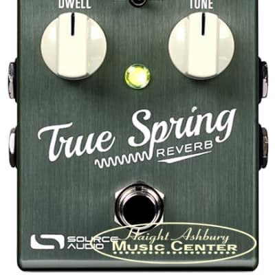 Source Audio One Series True Spring Reverb Effect Pedal with Tap Tempo Switch for sale