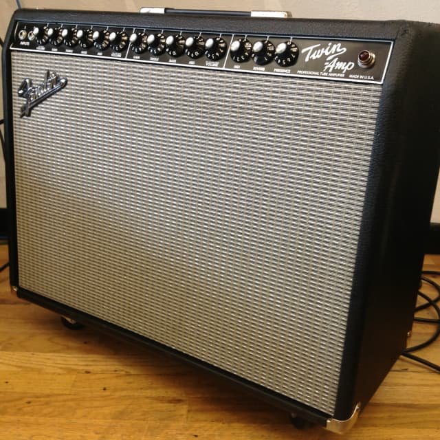 Fender Twin Professional Tube Amplifier image