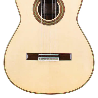 Fructuoso Zalapa Torres 2016 Classical Guitar Spruce/Cocobolo for sale