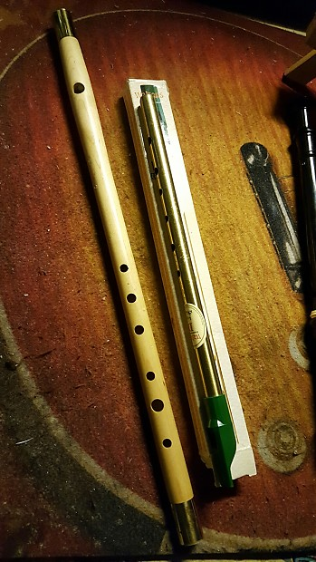 Wooden Fife Irish D Penny Whistle Wbox Student Level Folk Instruments Great Starter Woodwinds