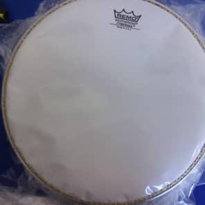 "Remo Cybermax Drum Head - w/ Duralock White 13"""