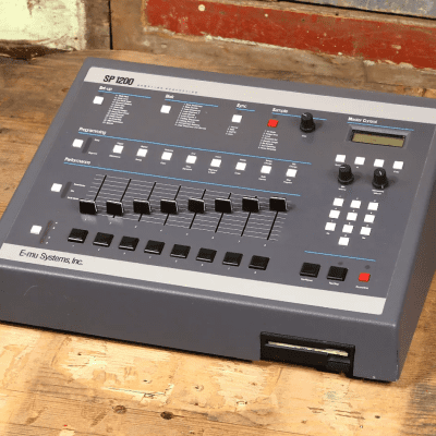 E-MU Systems SP-1200 Drum Machine & Sampler