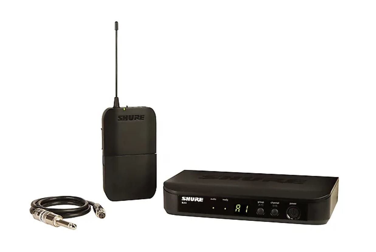 Shure BLX14 Bodypack Wireless System (Freq. - H10)