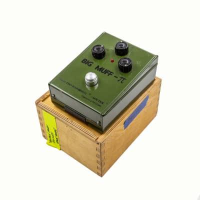 "Electro-Harmonix Sovtek ""Green Russian"" Big Muff Pi"