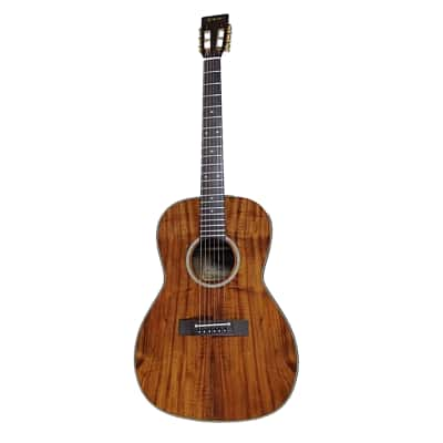 Takamine EF407 Legacy Series 6 Strings Acoustic Guitar with Hawaiian Koa Back, Sides & Top in Gloss Natural Finish