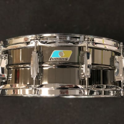 """Ludwig LB416 Black Beauty 5x14"""" Brass Snare Drum"""