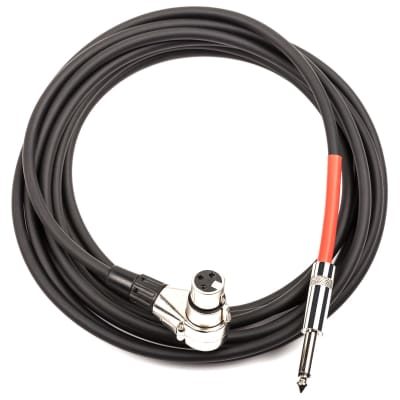 DDrum Right Angle XLR to 1/4 Trigger Cable - 6999 RA