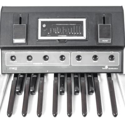 Moog Taurus I 1974 - 1981