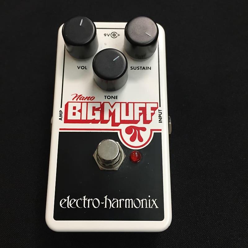 used ehx electro harmonix nano big muff pi tsu4902 reverb. Black Bedroom Furniture Sets. Home Design Ideas