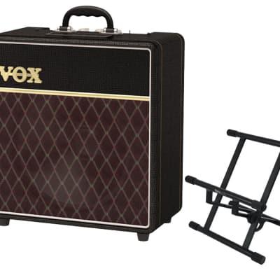 Vox AC4C1-12 + Gator Frameworks Amp Stand for sale