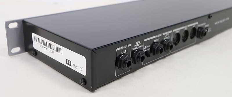 Digitech Vocalist Vr Vocal Harmony Processor With Reverb