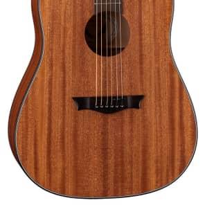 Dean Guitars Axs Series Dreadnought Acoustic Guitar, Mahogany Finish, AX D MAH for sale