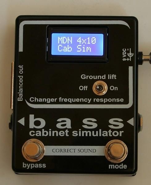 bass cabinet simulator reverb. Black Bedroom Furniture Sets. Home Design Ideas