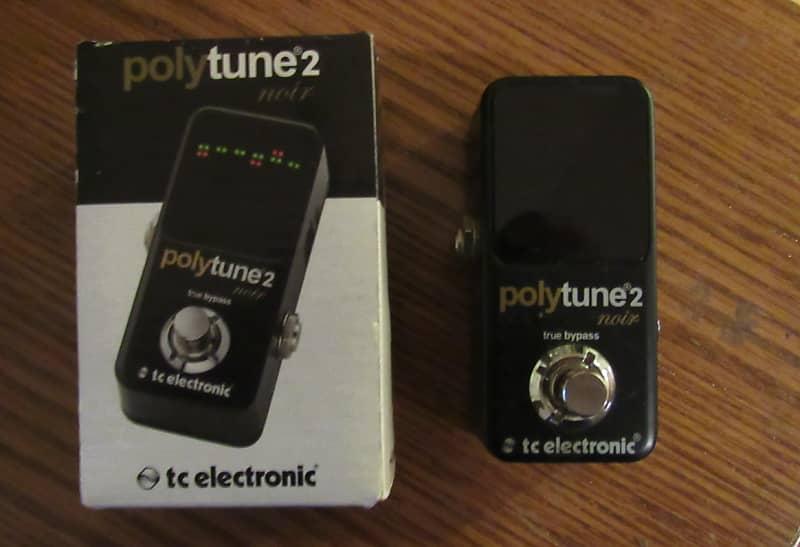 Tc Electronic Polytune 2 : tc electronic polytune 2 noir tuning pedal reverb ~ Russianpoet.info Haus und Dekorationen