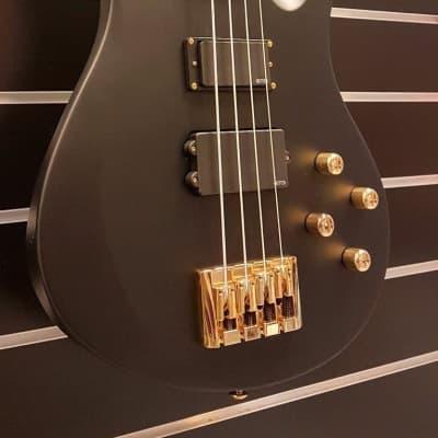 Schecter Avenged Sevenfold Johnny Christ Signature Bass,  Black Matte for sale