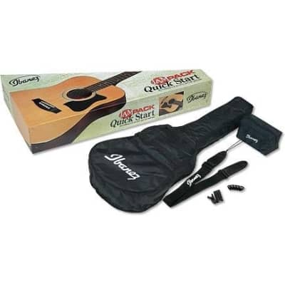 Ibanez V50NJP Dreadnought Acoustic Jam Pack, Natural High Gloss for sale