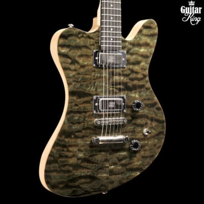 Stoney Creek Flint - Quilted Maple Top, Seymour Duncan Mini-Humbuckers USED MINT