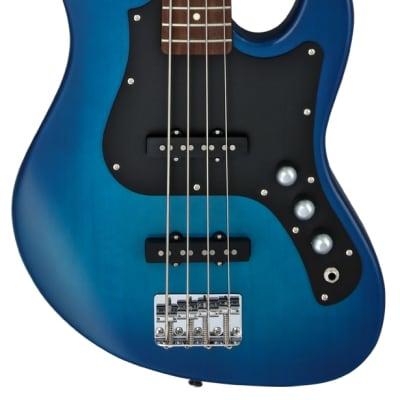 FGN Bassgitarre, Boundary Mighty Jazz, Transparent Blue Sunburst for sale
