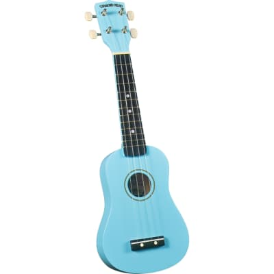 Diamond Head Rainbow Soprano Ukulele - Light Blue for sale