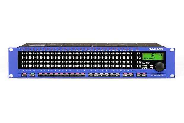 Samson D-1500 Spectrum Analyzer | RARE | | HK's Gear Boutique
