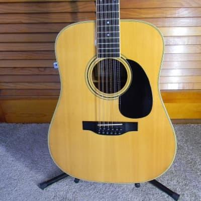 1970's Nashville  Vintage B706 Acoustic Electric Dreadnought 12 String Guitar ! for sale