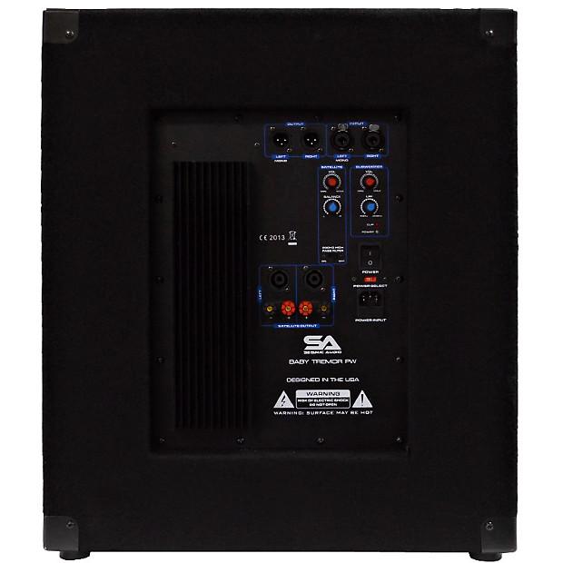powered 15 subwoofer cabinet pa dj pro audio band reverb. Black Bedroom Furniture Sets. Home Design Ideas