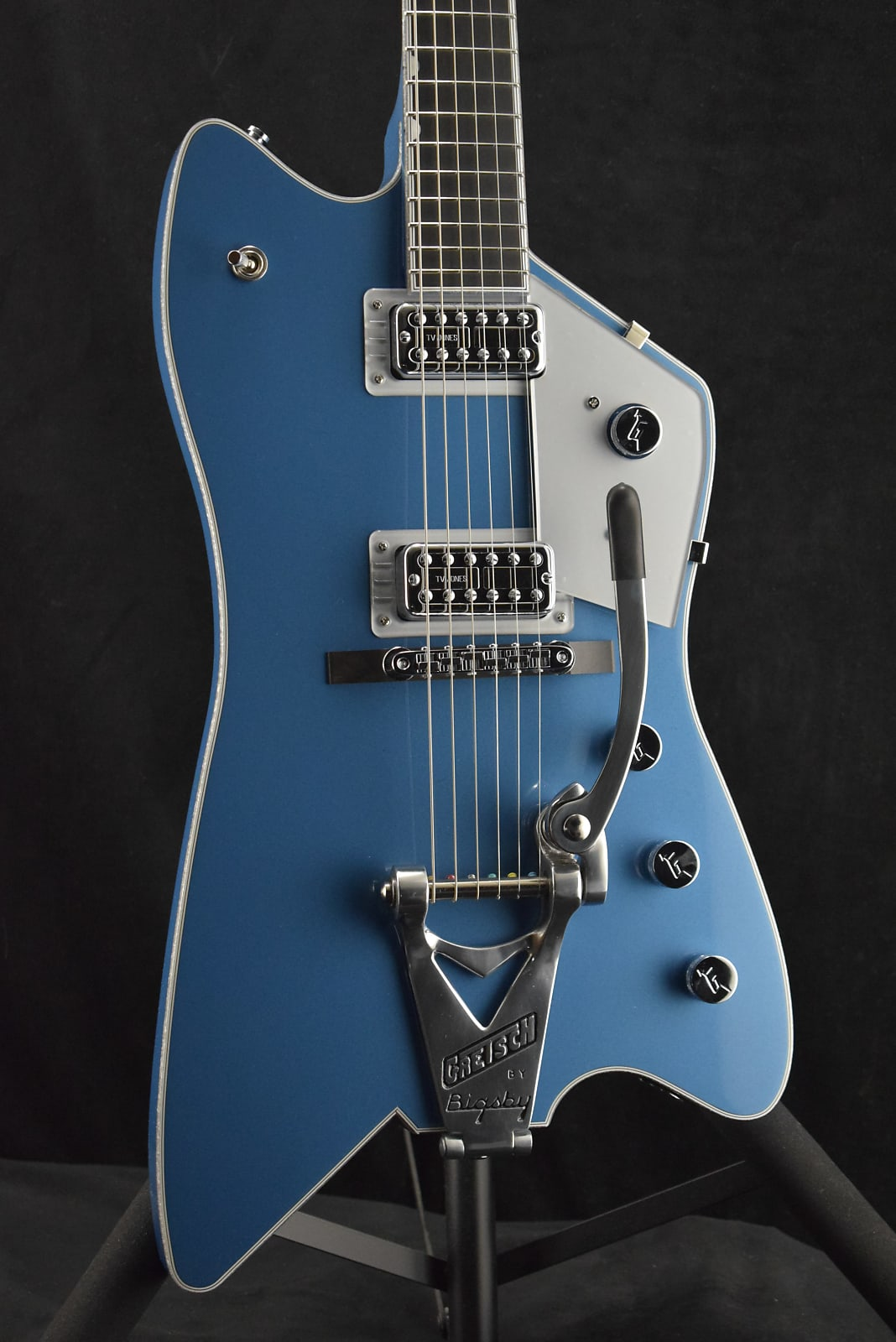 Gretsch G6199-TSL-LPB Billy-Bo Jupitor Thunderbird Lake Placid Blue (Built for Fuller's only)