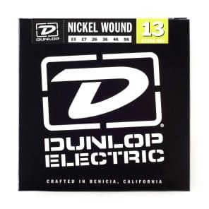 Dunlop DEN1356 Nickel-Plated Steel Extra Heavy .013-.056 Electric Guitar Strings (6 Set)
