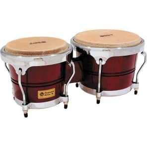 Latin Percussion LPP601-DWC Performer Series Bongos with Chrome Hardware