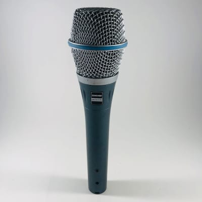 Shure Beta 87A Handheld Supercardioid Condenser Microphone  *Sustainably Shipped*