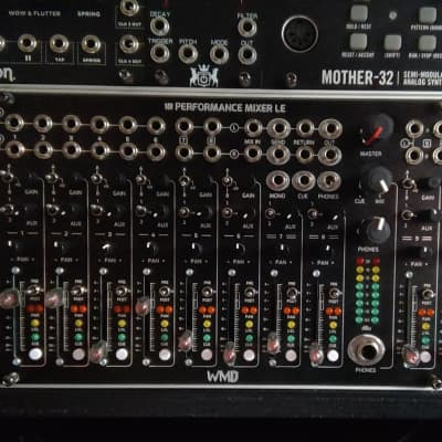 WMD Performance Mixer LE Black Limited Edition Eurorack Modular Module!