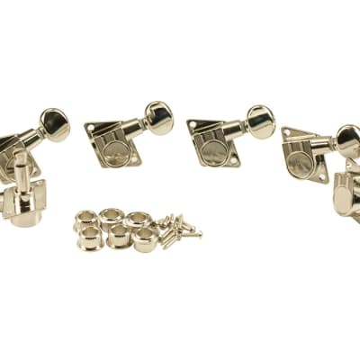 Kluson Revolution Tuners for Fender Nickel KFT-3805NL image