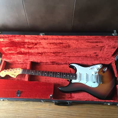 Fender American Jimi Hendrix Tribute Stratocaster 1997 Sunburst Seymour Duncan Mod 1 of a kind for sale