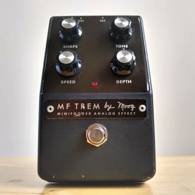 Moog Minifooger MF Trem Tremolo Guitar Pedal, Discontinued Rare for sale
